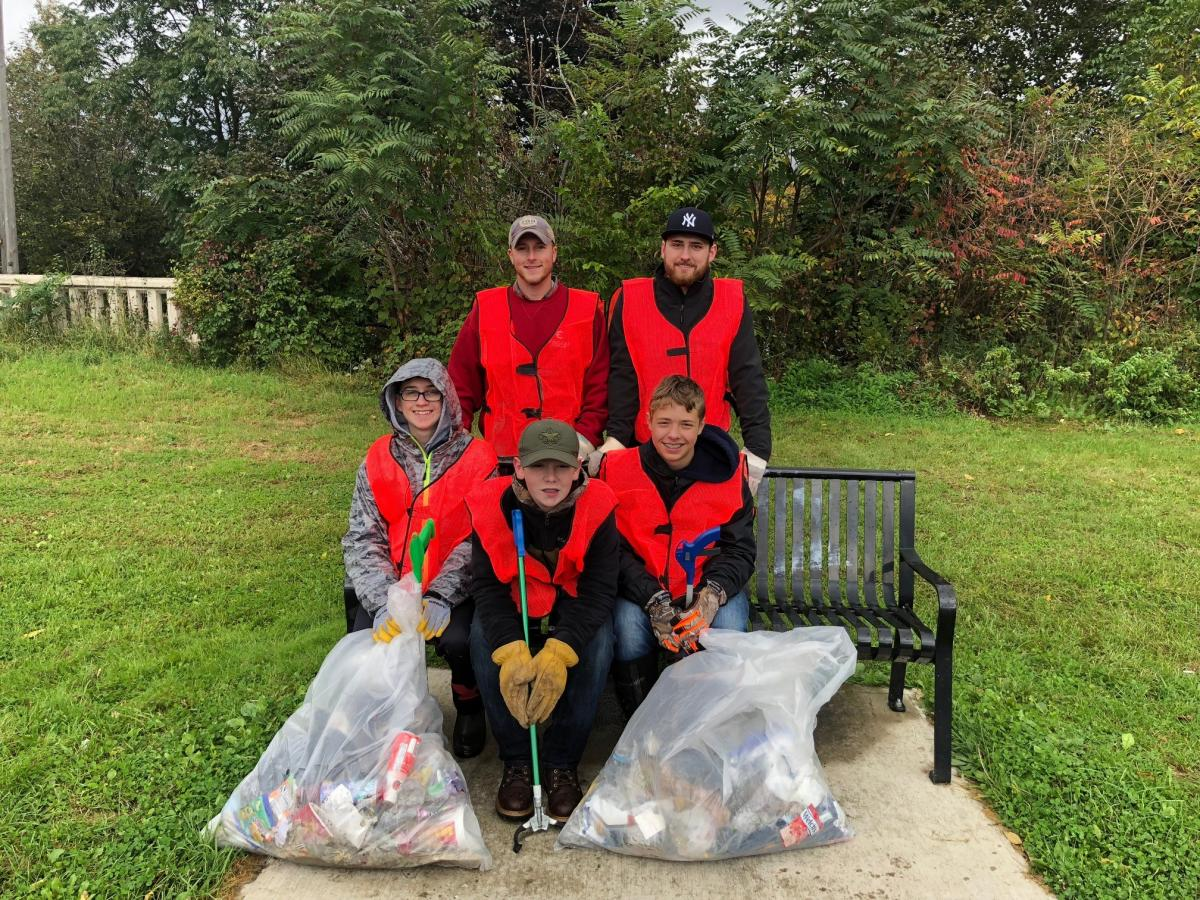 FE Boy Scout Troop 2 to Clean Elmira Lackawanna Rail Trail